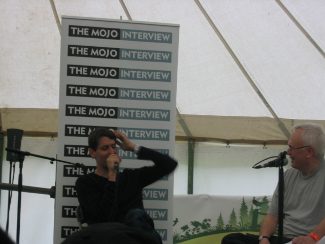 Stephen Malkmus Mojo Interview, Green Man 2007